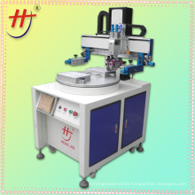 Hengjin automatic 2 station rotary screen printing machine for sale in Dongguan