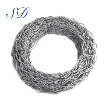 Cheapest Galvanized Low Carbon High Tension Galvanized Steel Wire