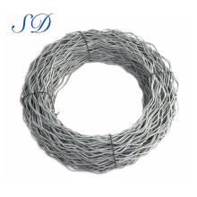 Cuerda de alambre de acero de alta tensión de la venta directa de la fábrica