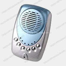 Cuadro de mensaje de 6 teclas, grabadora de voz, máquina de sonido