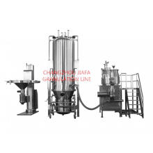 Good Quality for Granulating Machine Fluid bed mixing drying granulator line supply to Niue Suppliers