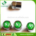 Aluminium-Legierung benutzerdefinierte Luft Alarm Reifen Ventil Kappen