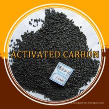 3.0 4.0 mm de carbón activado en forma de columna para el filtro de gas / aire