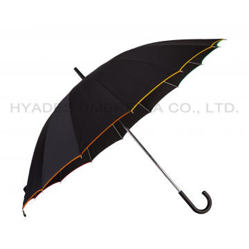 Rainbow Oversize Manual Open Straight Umbrella
