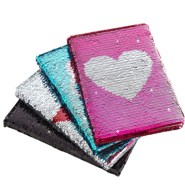 diary Sequin Notebook with Journal Flip Sequin Notebook