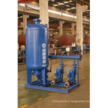 Haute capacité d'approvisionnement en eau pour hôpital ou centrale électrique