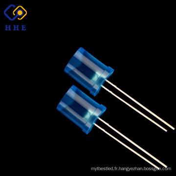 Nouvelle arrivée produit 8mm bleu diffusé super lumineux led diode
