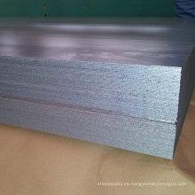 Hoja y chapa de acero inoxidable producida por laminado en frío