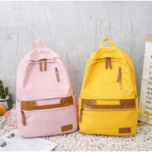 New Style Ladies Canvas Bag Casual Ladies Outdoor Backpack Fashion Stream Simple Backpack Laptop Bag