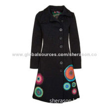 Hot wholesale spring autumn casual jacket, slim, for women and ladies