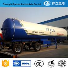 Camion-remorque de transport de gaz LPG adapté aux besoins du client