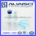 2ML Autosampler Clear Glass vial for HPLC compatible with Agilent