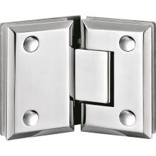 Bisagras de puerta de ducha de vidrio sin marco