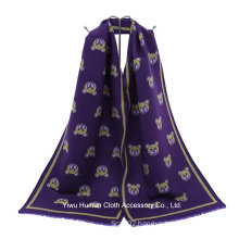 2016 New Style Purple Little Bear Pashmina Scarf