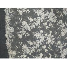 Вышивка Белый уникальные кружевные изделия ручной работы для свадебное платье 06