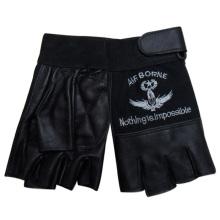 Men′s Fashion Sheepskin Leather Sports Gloves (YKY5016)