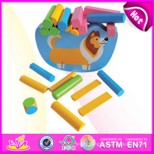 Wooden Block Balance Kids Toy Game W11f035