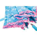 Frill Lace Cute Auto Open Kids Umbrella