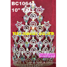 princess ab rhinestone cute party tiaras