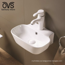 diseño popular blanco moderno baño sanitario montaje en pared fregadero