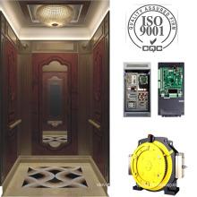 Machine d'ascenseur passager sans chambre pour Hotle