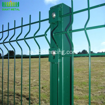 PVC+Powder+Coated+3D+Welded+Fence