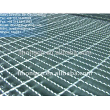 galvanized industrial floor serrated steel grating