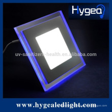 10W quente vendas 90-120lm / w levou luz do painel com azul e branco