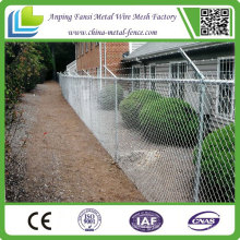 ISO9001 Galvanisierter Sicherheitsketten-Draht-Zaun China-Lieferant