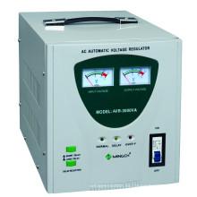 China Precio bajo 3000va Efrigerator Estabilizador del voltaje, estabilizador del voltaje del servo