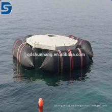 Airbags de goma inflables para lanzamiento de buques y levantamiento pesado