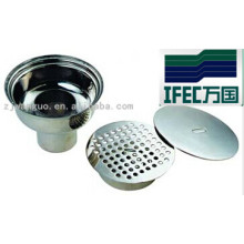 Escurridor sanitario de acero inoxidable (IFEC-SF100004)