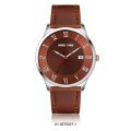 crystal cutting machine leather strap making mens watch