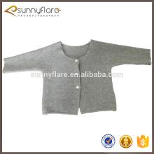 Suéter cardigan de alta calidad de los niños del suéter de la cachemira del diseño 2017 de la primavera únicos