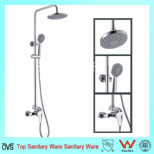 Chrome Brass Rain Concealed Hidden Shower Set with Handheld Shower