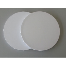 Blank Stretched Canvas in Round Shape