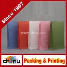 Цветной бумажный пакет из крафт-бумаги (2113)