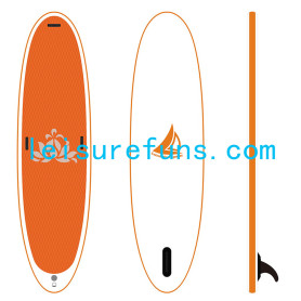 lebih ringan Inflatable Yoga sup Paddle Board