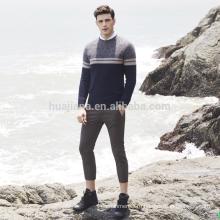 Мужская 100% кашемир мягкий свитер