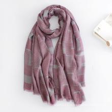 Женская мода dots печатных вискоза Шелковый шарф (YKY1133)