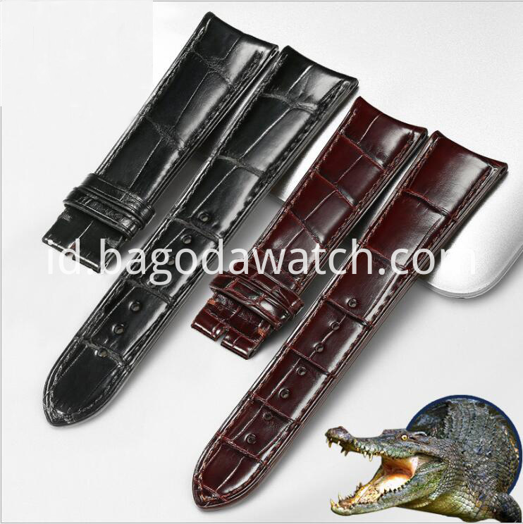 crocodile leather watch band