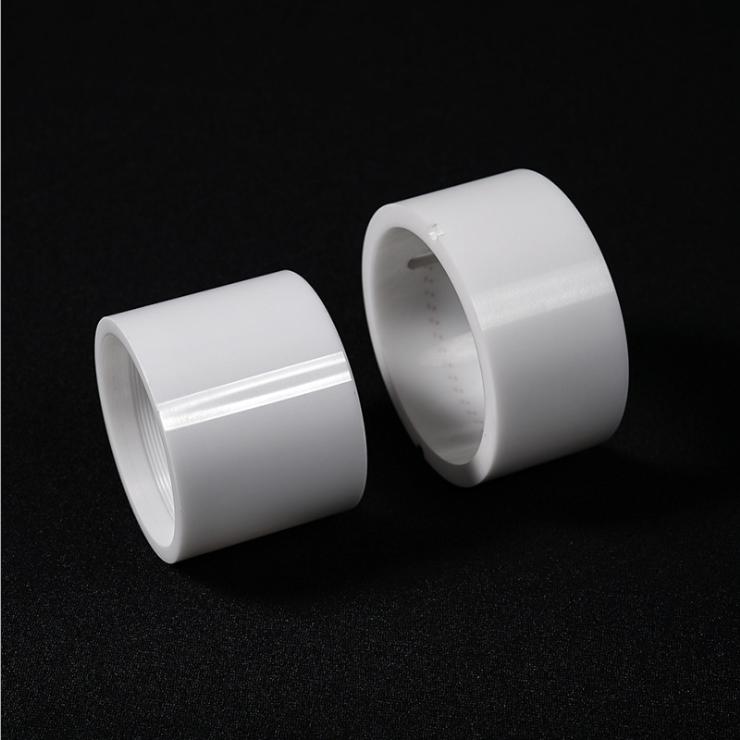 Ceramic piston plunger
