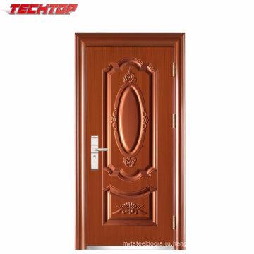 ТПС-045 бесплатный образец из нержавеющей стали главные ворота дизайн двери для дома