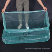 Plastic PE Square 3D Bags for Packing