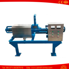 Poultry Cow Dung Dewatering Machine Dehydrator Chicken Manure Dewatering Machine