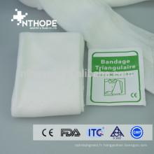 bandage de bras triangulaire non tissé