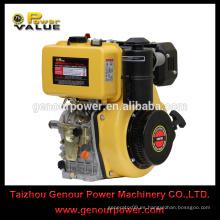 De alta calidad de 1 cilindro de 4 tiempos de aire refrigerado motor diesel 186FA motor de precio competitivo