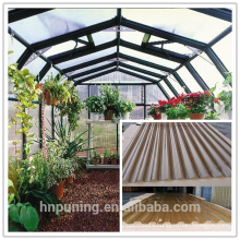 Roofing green house corrugated plastic roofing sheets
