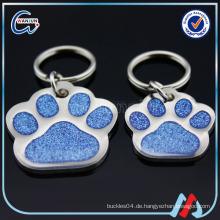 Kundenspezifisches Metalletikett für Hund
