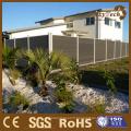 L'Australie Style UV résistance intimité clôture clôture bois Composite